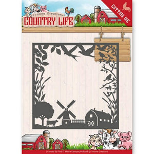 Yvonne Creations - Dies - Country Life - Frame