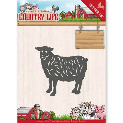 Yvonne Creations - Dies - Country Life - Sheep