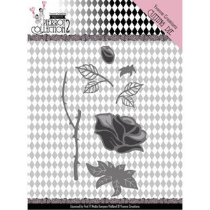 Yvonne Creations - Dies - Pretty Pierrot 2 - Rose