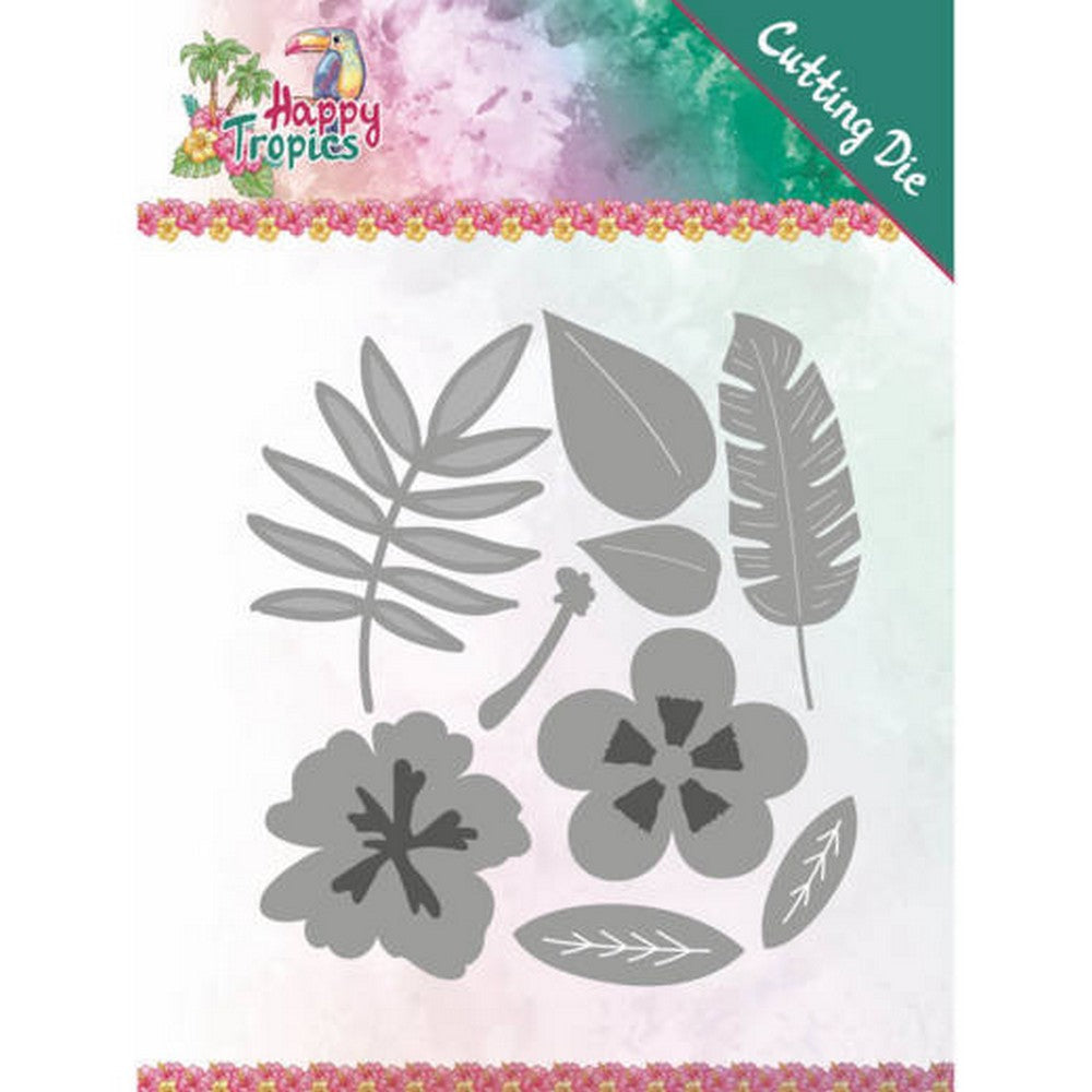 Yvonne Creations - Dies - Happy Tropics - Tropical Blooms