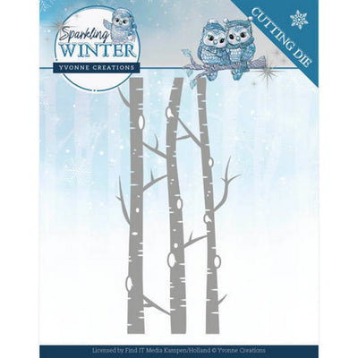 Yvonne Creations - Sparkling Winter - Birch Trees