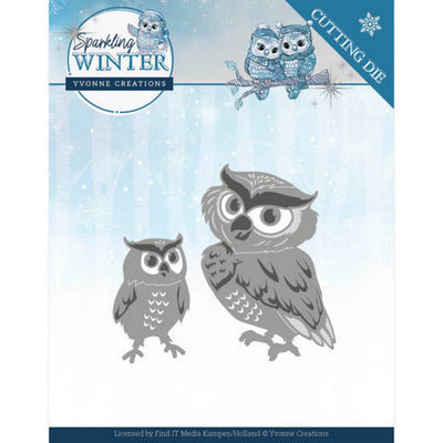 Yvonne Creations - Sparkling Winter - Winter Owls