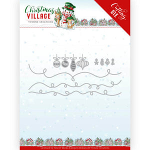 Yvonne Creations - Dies - Christmas Village - Christmas Lights