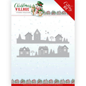 Yvonne Creations - Dies - Christmas Village - House Scene