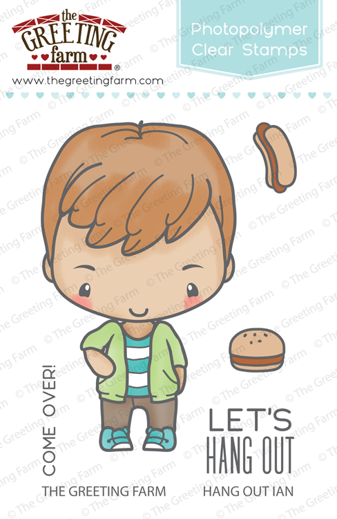 The Greeting Farm - Clear Stamps - Hang Out Ian (Ships Nov 18)