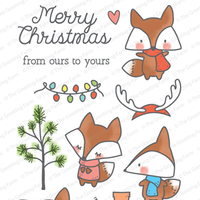 The Greeting Farm - Clear Stamps - Oh, What Fun (Ships Nov 18)