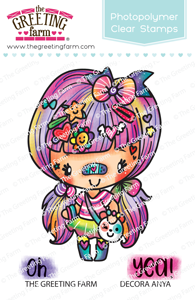 The Greeting Farm - Clear Stamps - Decora Anya (Ships Nov 18)