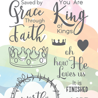 The Greeting Farm - Clear Stamps - King of Kings (Ships Nov 18)
