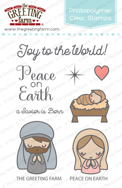 The Greeting Farm - Clear Stamps - Peace on Earth (Ships Nov 18)