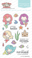 The Greeting Farm - Clear Stamps - Little Mermaids (Ships Nov 18)