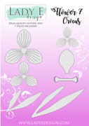Lady E Design - Dies - Flower 007 - Crocus