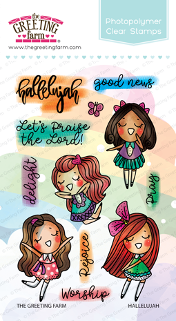The Greeting Farm - Clear Stamps - Hallelujah (Ships Nov 18)