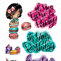 The Greeting Farm - Clear Stamps - It's Your Birthday (Ships Nov 18)
