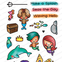 The Greeting Farm - Clear Stamps - Make a Splash (Ships Nov 18)