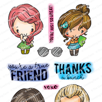 The Greeting Farm - Clear Stamps - Mini-Remix Friend (Ships Nov 18)