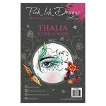 Pink Ink Designs A5 Clear Stamp Set - Thalia