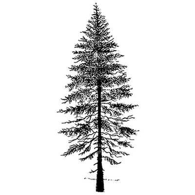 LAV083 - Lavinia Stamp - Fir Tree 2