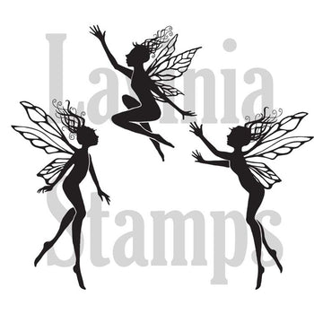 Lavinia Stamp - Three Dancing Fairies