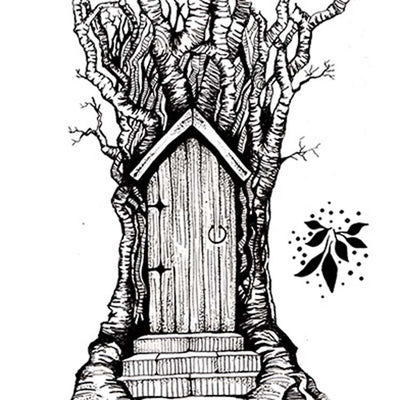 LAV141 - Lavinia Stamp - Fairy Door Large