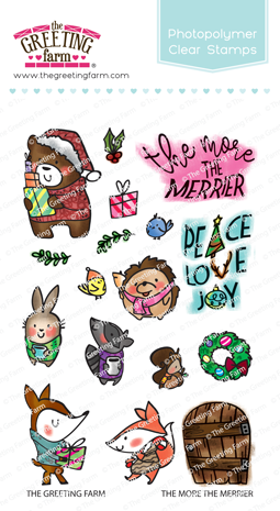The Greeting Farm - Clear Stamps - The More the Merrier (Ships Nov 18)