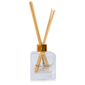 Sandalwood & Geranium - Cubic Diffuser - Waxy Candles