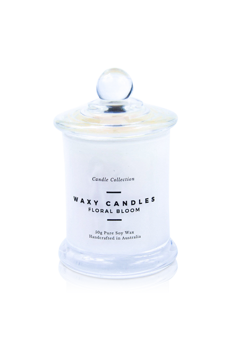 Floral Bloom - Waxy Candles