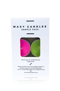 Tealight sample pack - Waxy Candles