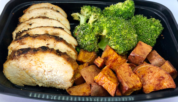 Grilled Chicken, Broccoli & Sweet Potatoes - Lake Charles, Louisiana Meal Prep