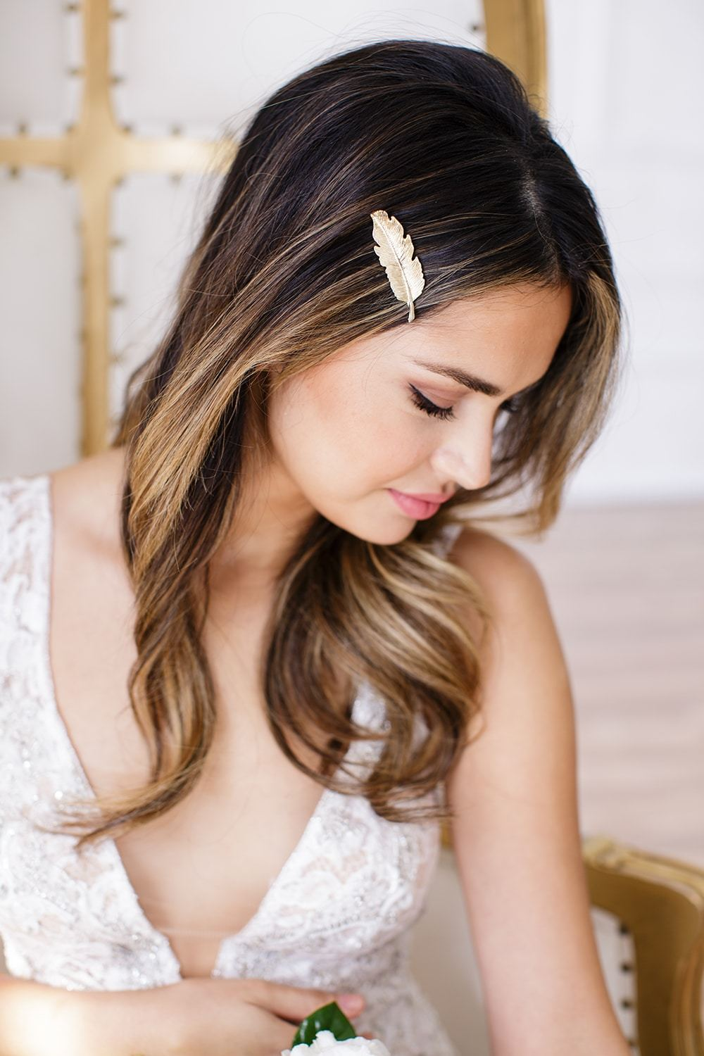 Hair pieces for your bridal party? We say yes!