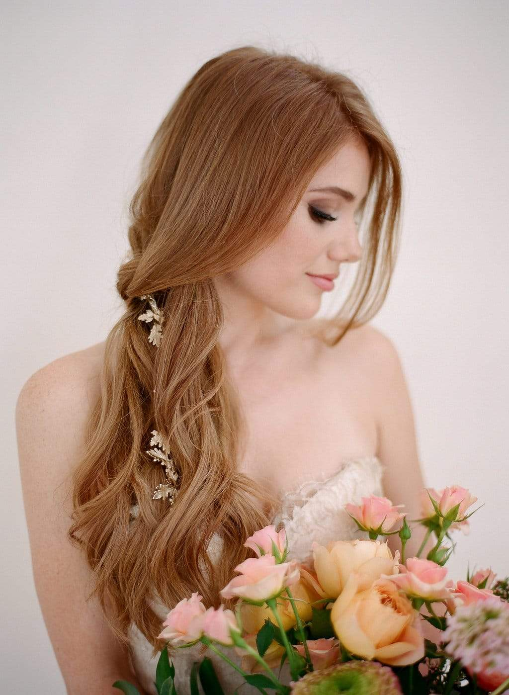Simple and sneaky ways to include some bling in your wedding hair