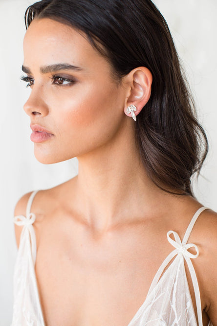 Kylar Earrings - Bridal Hair Accessories