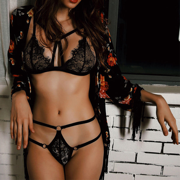 Sexy female sexy lingerie combination