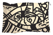 Scarf designed by artist. You can wear it as a scarf, sarong or head scarf
