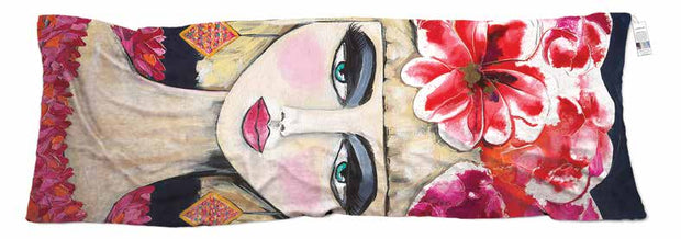 Silk scarf designed by artist Emma Menzies