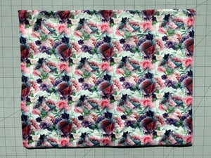 Abstract Floral Jewel Light (DBP Fabric - RTS) - AydensRainBOW