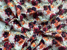 Load image into Gallery viewer, Orange Plum Floral (DBP Fabric - RTS) - AydensRainBOW