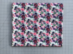 Abstract Floral Jewel Light (Liverpool Fabric - RTS) - AydensRainBOW