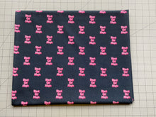 Load image into Gallery viewer, Black Girl Magic - Pink on Black BG (Liverpool Fabric - RTS)