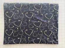 Load image into Gallery viewer, Golden Hearts (Minky Fabric - RTS) - AydensRainBOW