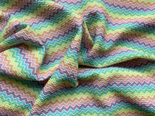 Load image into Gallery viewer, Pastel Chevron (Bullet Fabric - RTS)