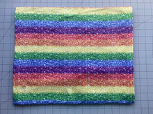 Load image into Gallery viewer, Rainbow Glitter (DBP Fabric - RTS) - AydensRainBOW