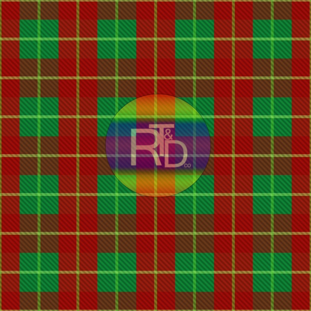 Green/Red Plaid (Preorder Fabric)