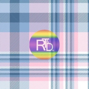 Pink and Blue Plaid (Preorder Fabric) - AydensRainBOW