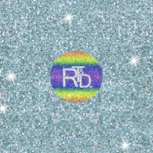 Spa Blue Glitter (Preorder Fabric) - AydensRainBOW