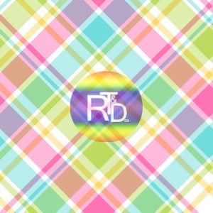 Easter Plaid (Preorder Fabric) - AydensRainBOW