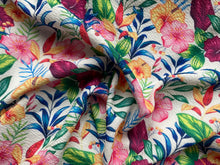 Load image into Gallery viewer, Tropical Floral (Liverpool Fabric - RTS)