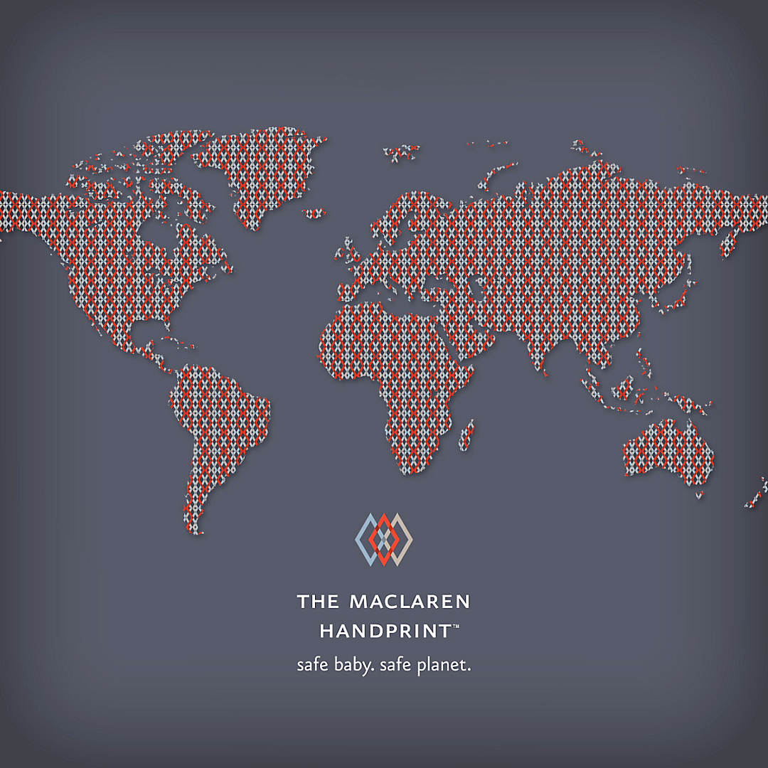 Maclaren Baby - About Maclaren | The Maclaren Handprint
