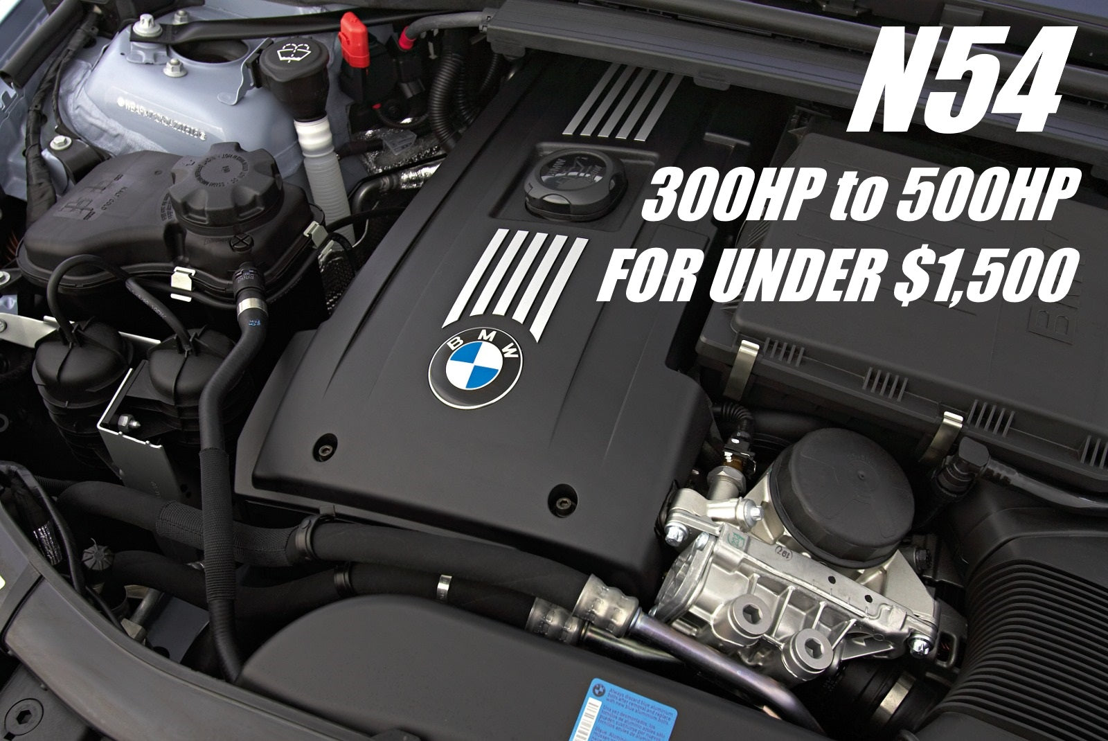 GIVE YOUR N54 BMW 135i or 335i 500HP FOR UNDER $1,500