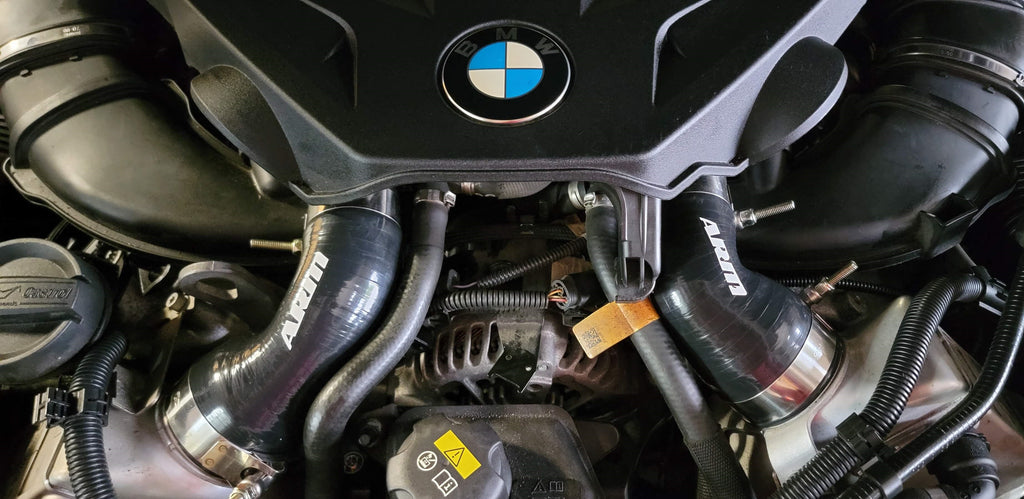 N63 Charge Pipes ARM Motorsports