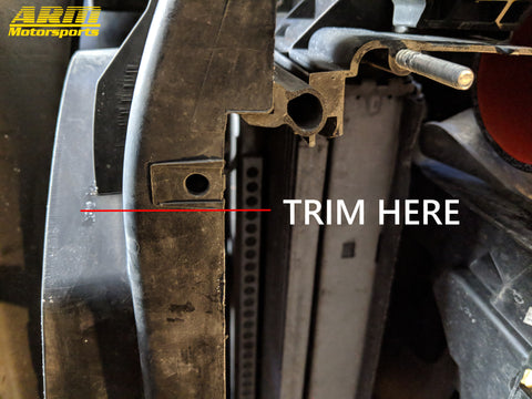 7in FMIC Trimming Guide ARM Motorsports